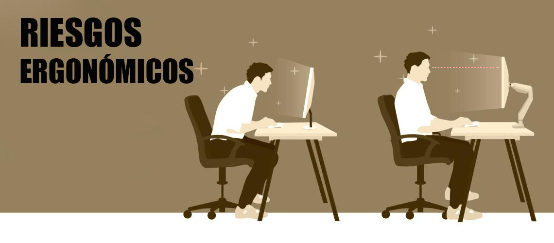 Factores de riesgos ergon micos causas y soluciones for Ejemplos de muebles ergonomicos