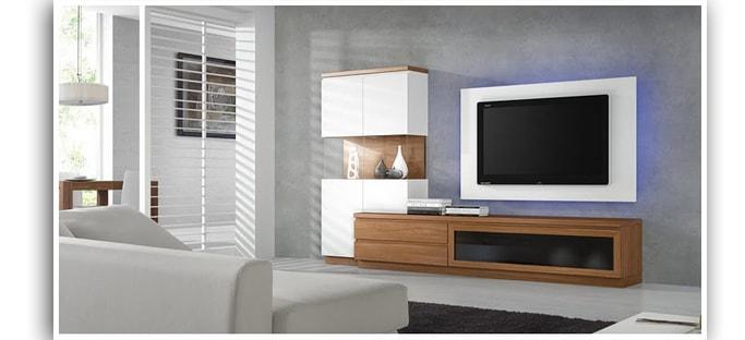 A que altura instalar tu televisor pantalla plana lcd led - Que poner encima de una comoda ...